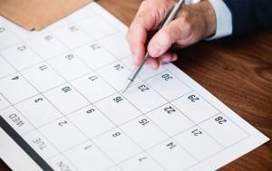 Visuel : Deux dates importantes à la rentrée